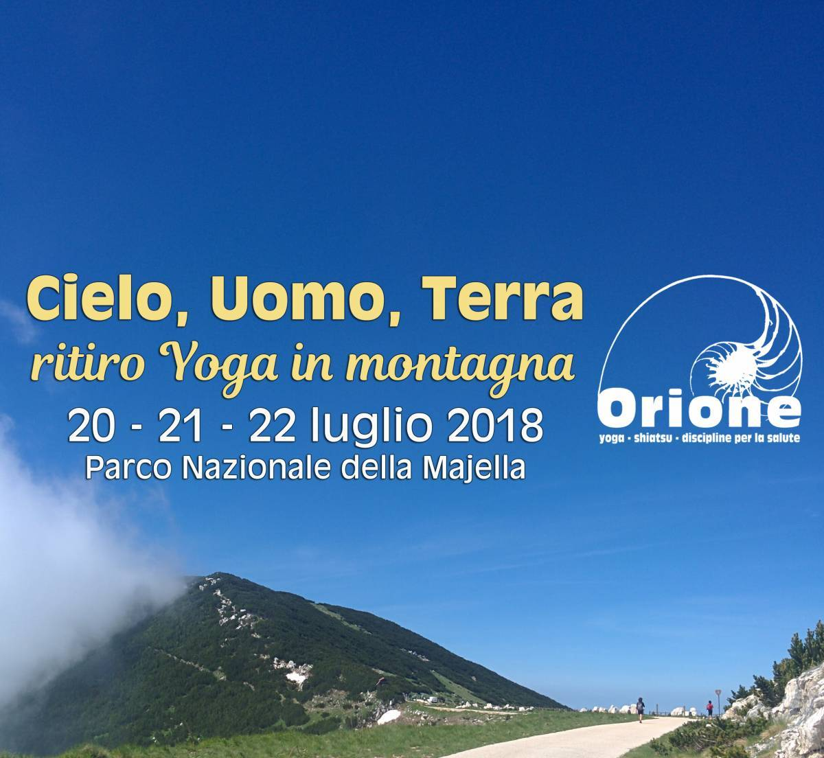 weekend Yoga in montagna Abruzzo